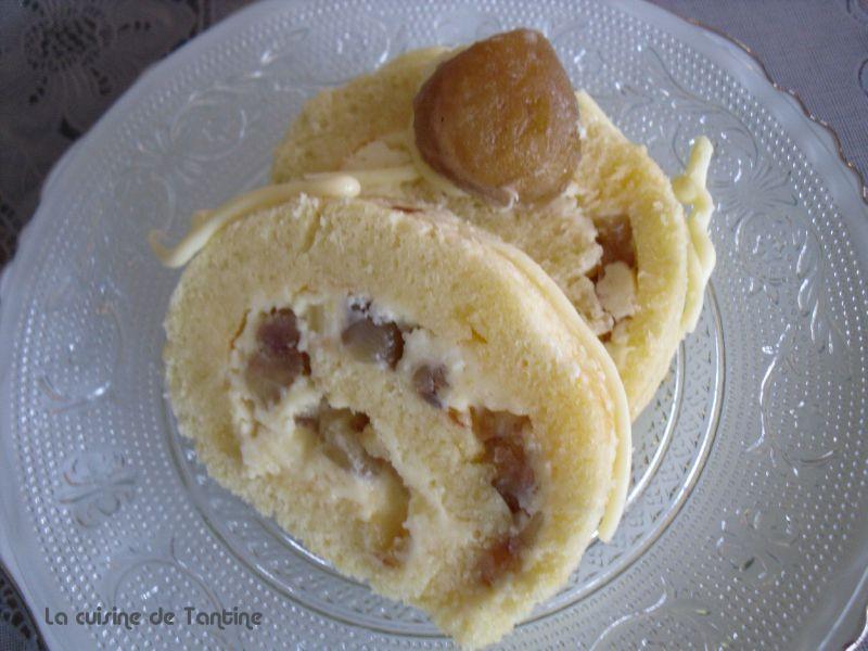 B che citron marrons gla s cuisine de tantine - Herve cuisine buche marron ...