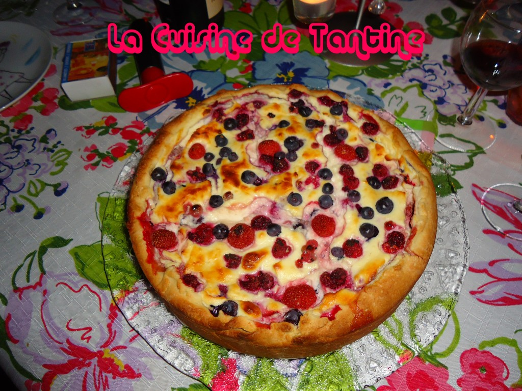 tarte_ricotta_fruits_rouge